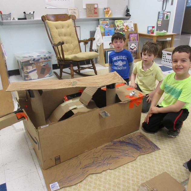Buildilng ship stairs