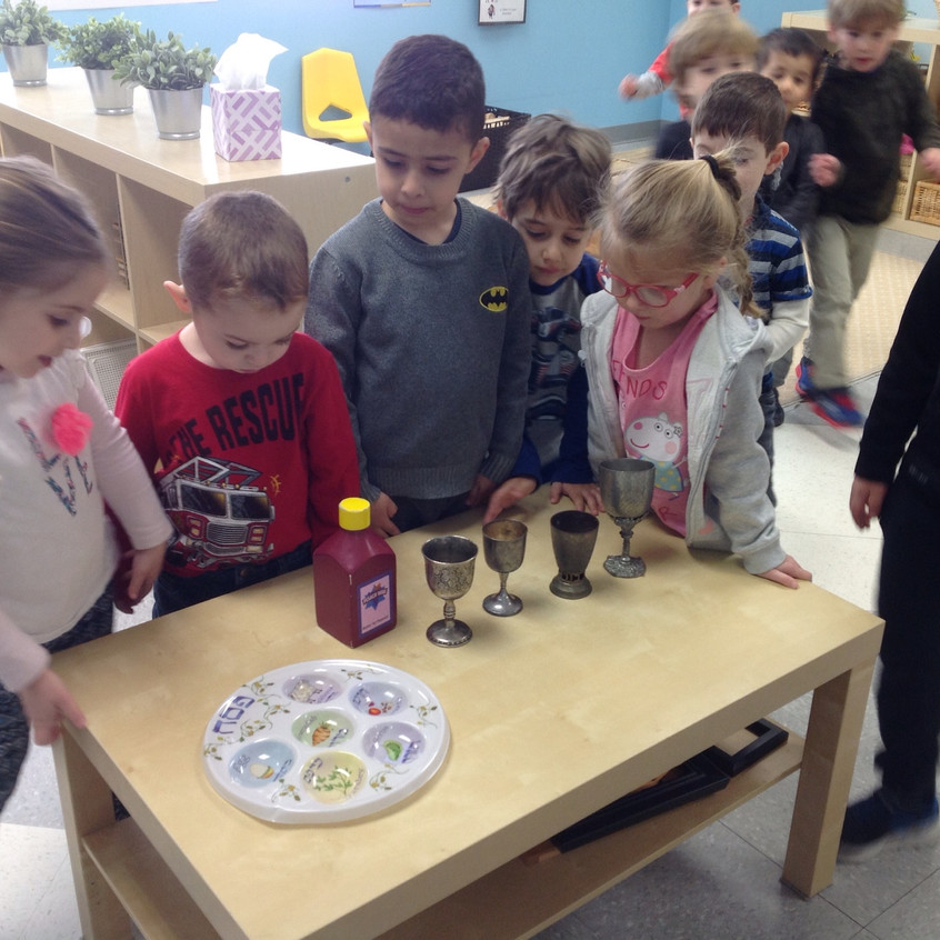 Exploring Kiddush cups for seder