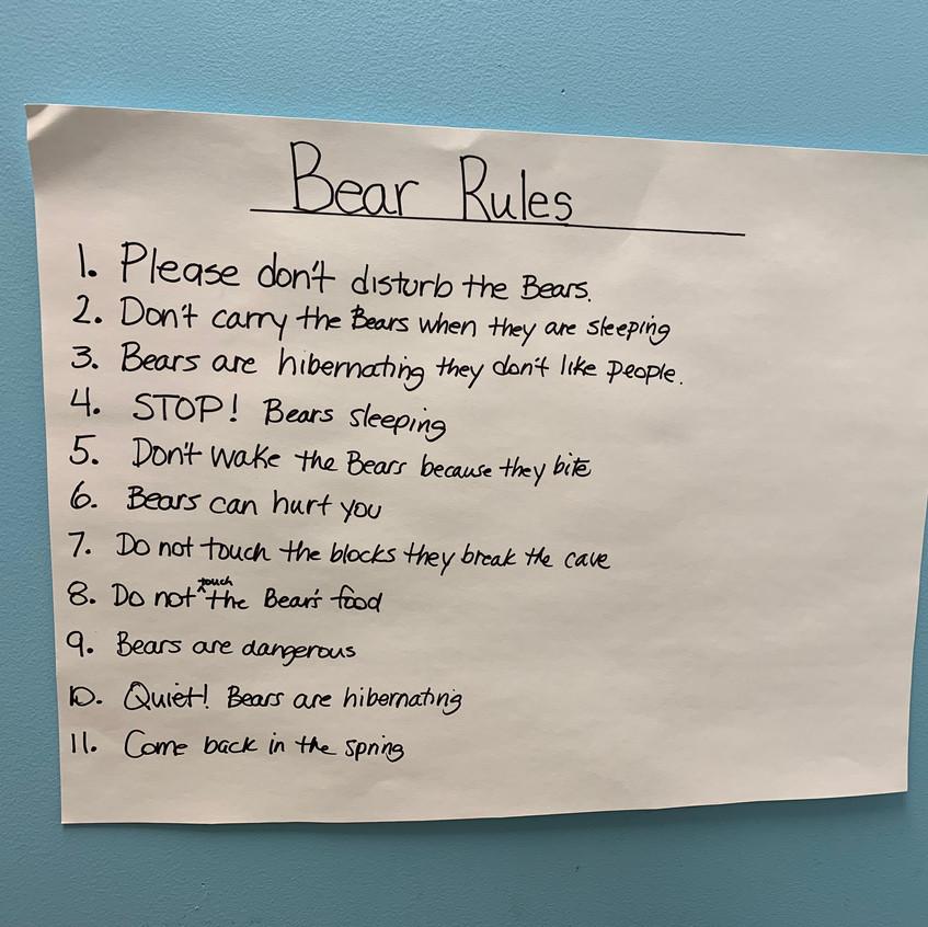 Bear Rules