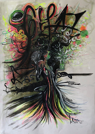 ROXANNE by myREdrm - Contemporary Art