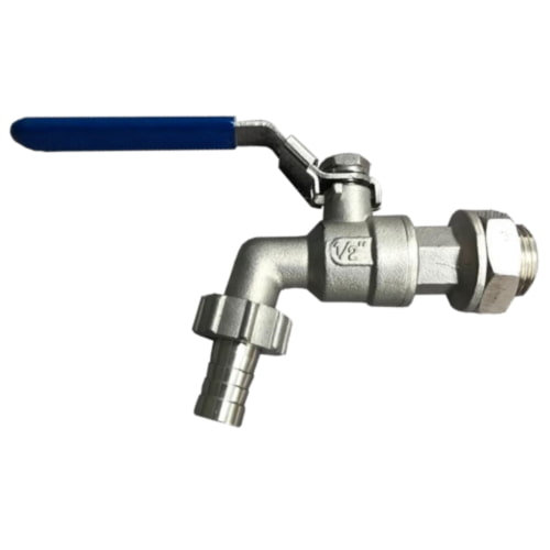 1/2inch Tap / Ball Valve with 13mm Barb (RoboBrew or BrewZilla Ball Valve)