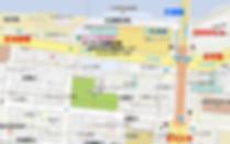 アユート株式会社の地図です。