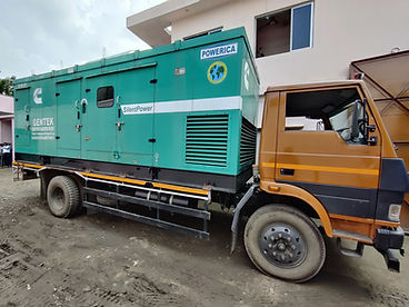 Sound Proof Generator on hire in kolkata