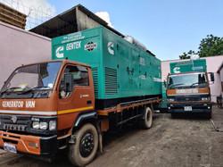 62.5 - 1010 KVA SOUNDPROOF DIESEL GENERATORS ON HIRE in KOLKATA and Howrah And Eastern India