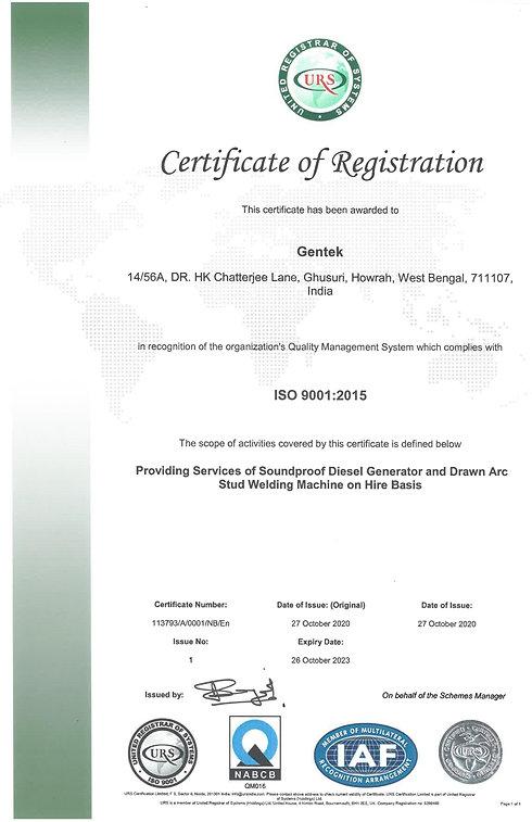 ISO Certified Generator Hire West Bengal