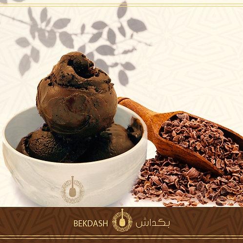 بوظة عربية بالشوكولاتة