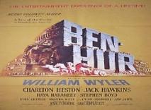 Affiche de Ben Hur avec Charlton Heston