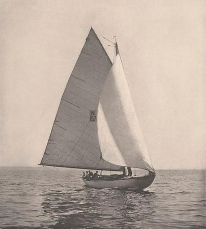Mimosa III en 1904