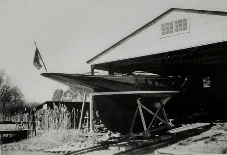 Le lancement du 8mJI Ilderim 1936