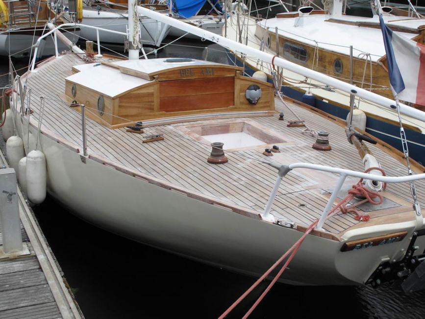 Cotre breton 1963, construit chez Ferlet à Indu (44)