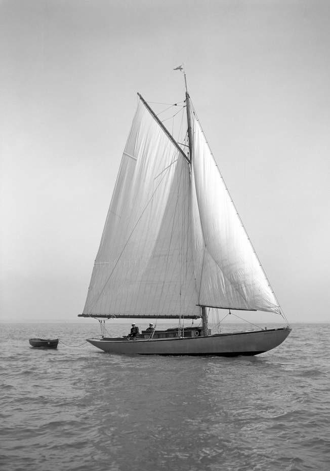 Mimosa III s'appelle Windrush en 1928