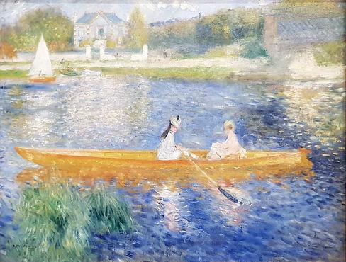 Renoir peint La Yole