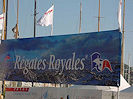 Entrée de la zone des Régates Royales sur le port de Cannes