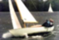 Nordic Folkboat en course