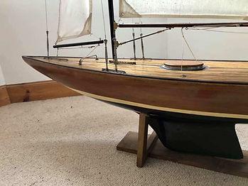 Maquette navigante de John Alexander