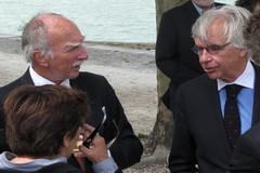 Le Président Jean-Christian Fandeux et le Maire de La Rochelle