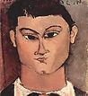 Moïse Kisling par Amadeo Modigliani
