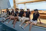 6 skippeures, 6 yachts aux Dames de Saint-Tropez