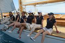 Skippeures aux Dames de Saint-Tropez