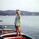Brigitte Bardot sur Riva Aquamara