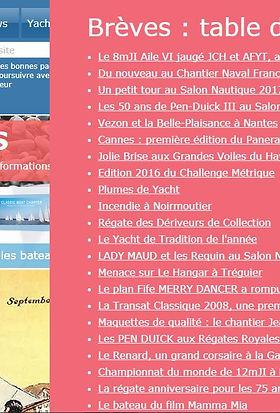 Index des Brèves