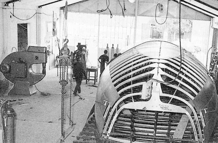Construction d'une structure en acier