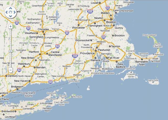 Côte Est de New York à Boston