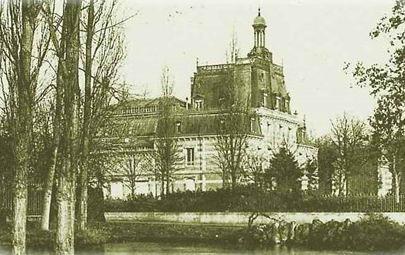 La villa Hériot au Vésinet
