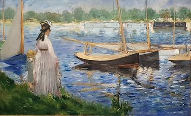 Manet à Argenteuil