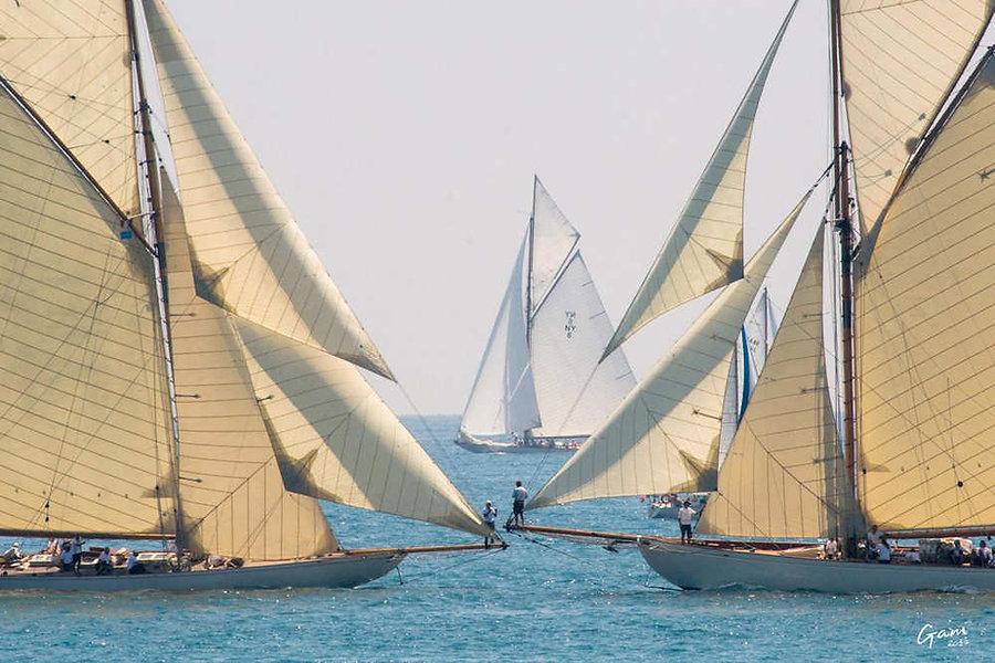 Voiles d'Antibes © Stéphane Gamelin