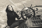 Emily Harris à la barre de HARDY lors de la Maldon Town Regatta © Martin van der Wal
