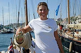 Charlotte Franquet capitaine d'Eva