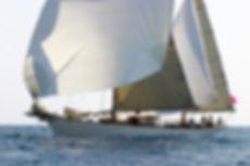 Le yacht classique Hygie