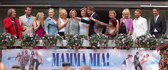 Mamma Mia et le groupe Abba