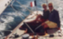 A bord du 6mJI Vert-Galant au large du Bois de la Chaise