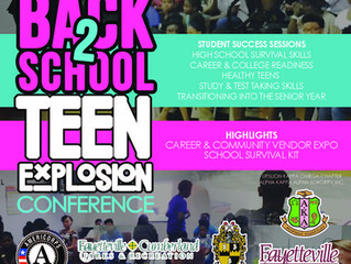 Teens Preparing to Raise Academics to Another Level @ the 6th Annual Back-to-School Teen Explosion C