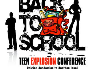 Save-the-Date:  5th Annual Back to School Teen Explosion Conference