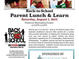Join us for a Parent Lunch & Learn at the Back-to-School Teen Explosion Conference