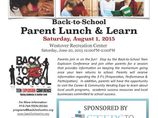 Back-to-School Parent Lunch & Learn