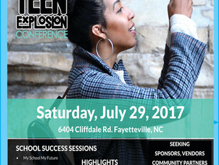 Save-the-Date: 7th Annual Back-to-School Teen Explosion Conference Seeking Business/Community Partne