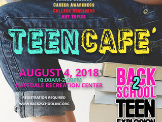 Seeking Sponsorships and Donations while Gearing Up for 2018 Back-to-School Teen Conference