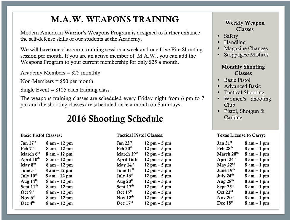 "Concealed Handgun Classes in ""The Woodlands, Texas"""