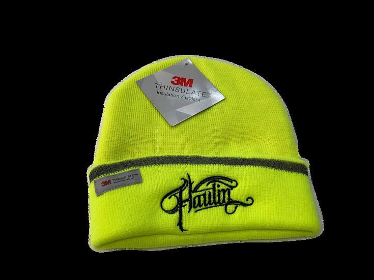Haulin Hi-Vis Yellow Beanie