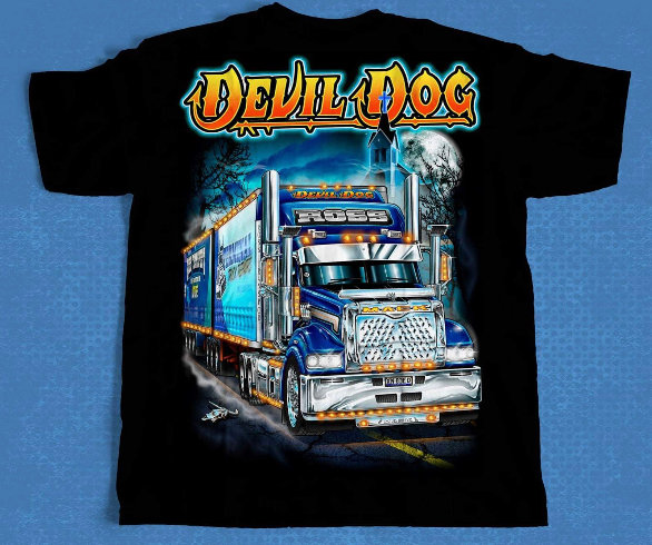 HAULIN ''DEVIL DOG'' T SHIRT