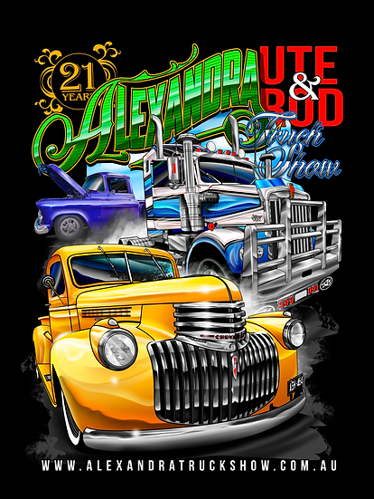 Haulin' Apparel ''Alexandra truck show T Shirt''