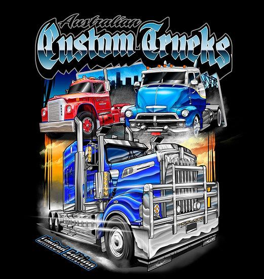 Australian Custom Trucks Singlet
