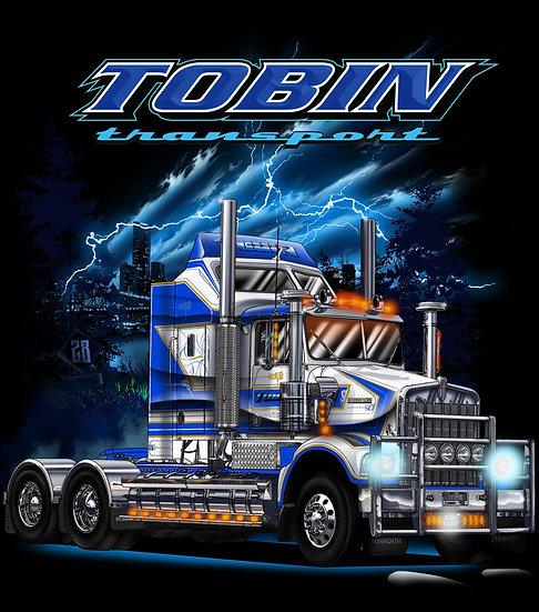 MARK TOBIN TRANSPORT ''HOODIE''