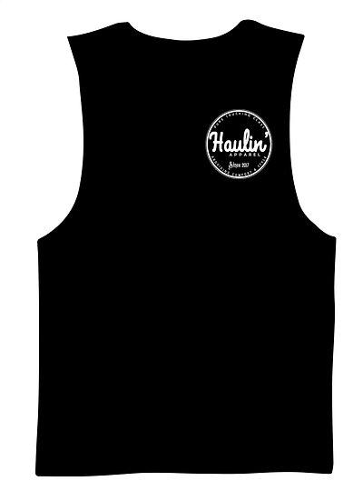 Haulin Logo Muscle Tank