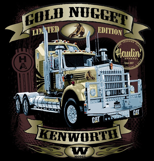 "Haulin "" Gold Nugget "" T Shirts"