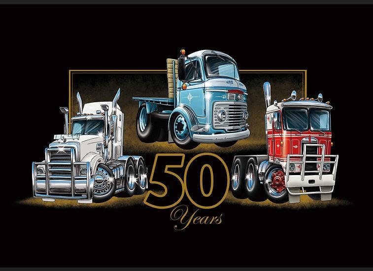 limited edition  Brisbane truck show T - Shirt